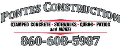 Pontes Construction | Stamped Concrete Contractor Near Lebanon, CT